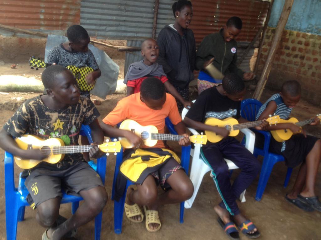Ukeleles in Ggaba