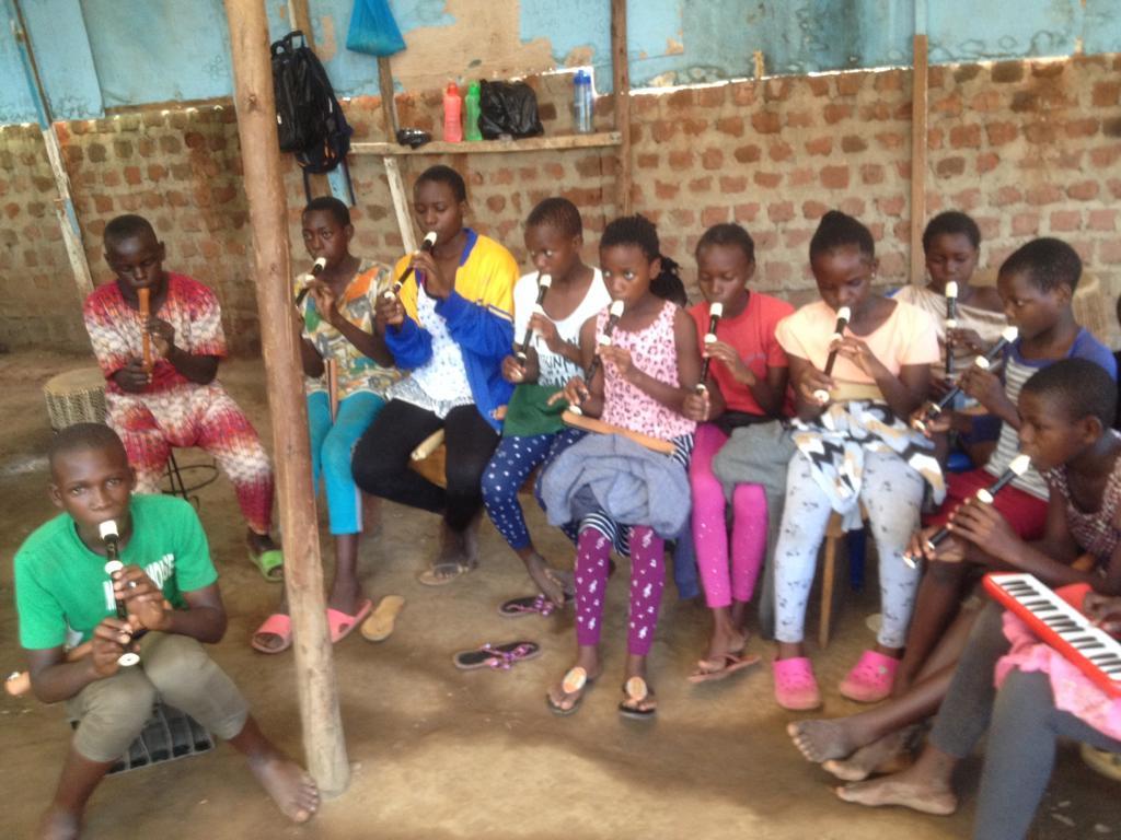 Blokfluiten in Ggaba